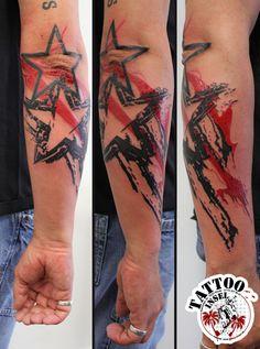 Tattoobewertung anhand einiger ausgesuchter Tätowierungen von Stilen wie Polka Trash / Aquarell Tattoos / Watercolor Tattoos / Black & Grey sowie Farbtattoos