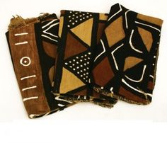 Mudcloth is a traditional African fabric. It is so treasured in other parts of the world that it is also one of the major exports of Mali, West Africa. It is famous for its distinctive look and also for the rich symbolism behind each piece. Each piece of mudcloth tells a story; each symbol and each color has a specific meaning.
