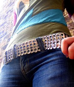 Pull Tab Belt