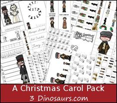 Every year our family watches A Christmas Carol. For a new printable themed pack this is A Christmas Carol. Christmas Books, Christmas Carol, Kids Christmas, Christmas Crafts, Christmas Activities For Kids, Christmas Printables, Victorian Christmas, Whimsical Christmas, Library Activities