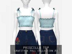 The Sims 4 Priscilla Top