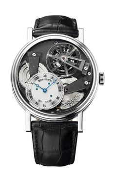 The Breguet Tradition 7047 with tourbillon, fusee and silicon Breguet overcoil balance spring - Breguet Watch