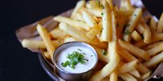 Want to eat these duck fat fries?