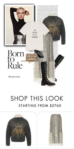 """""""Rebellion becomes duty"""" by blonde-bedu ❤ liked on Polyvore featuring Isabel Marant, Piel Leather, Rodarte, NATAF, Nasty Gal and modern"""