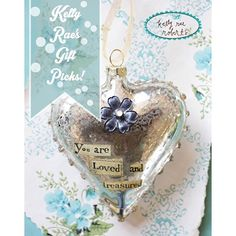 You guys, our collection of everyday glass heart ornaments is really really sweet, and these are some of our bestsellers!! We have special messages for mamas, daughters, sisters, grandmamas, and mini messages for special friends. Check out the whole collection at the online retailer Garden Gallery!