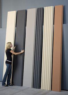 Langer Lulatsch: 3 Meter lange Ziegelplatte für vorgehängte Fassaden House Cladding, Exterior Cladding, Wall Cladding, Facade House, House Facades, Facade Design, Exterior Design, Detail Architecture, Stone Wall Design