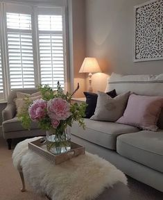 Cozy living room ideas and design 00005 ~ Home Decoration Inspiration Cosy Lounge, White Lounge, Lounge Decor, Living Room White, Cozy Living Rooms, Apartment Living, Living Room Victorian House, Interior Design Living Room, Living Room Designs