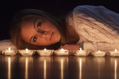 Photograph Christie By Candlelight by Tracy Parker on 500px