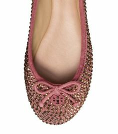 Crystal Chelsea Ballet Flat | Womens Flats | ToryBurch.com