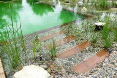 Cómo se hacen las piscinas ecológicas: Un chapuzón natural