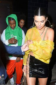 Kendall and A$AP Rocky
