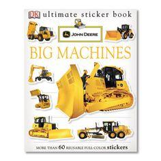 John Deere Big Machines Sticker Book – GreenToys4u.com
