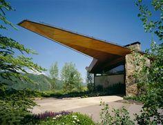 Résidence unique à Aspen dans le Colorado Les architectes new-yorkais de Voorsanger sont à l'origine de cette maison dès plus originale, située à 2800 m d'