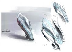 From Car Body Design | BMW Vision Future Luxury Concept - Interior Design Sketch by Doeke de Walle