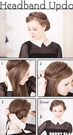 updos for medium length hair casual french twists updos for medium length hair…