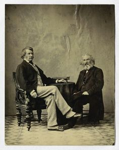 Charles Sumner and Henry W. Longfellow