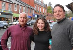 "The ""Not Famous (yet)"" players are Eddie Adelman (from left), Danielle Bannister and Robin Jones. The group will read and perform Saturday, Nov. 3 at the Unitarian Universalist Church in Belfast."