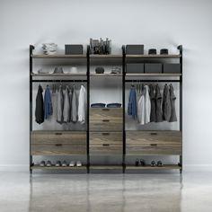 Gamme UP - Organiser : Collection Gravity, Manufacturier de meubles contemporain, Huppé.net.