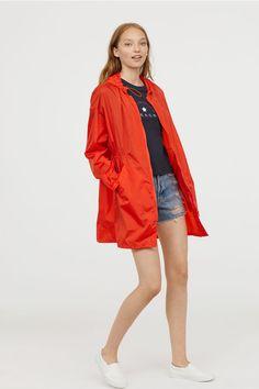 Jachetă de exterior de nailon - Roșu-aprins - FEMEI | H&M RO 1