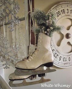White Whimsy: Christmas Around the House