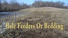 I show what I have learned from having the bail feeder vs not having one. I also talk about the advantages.