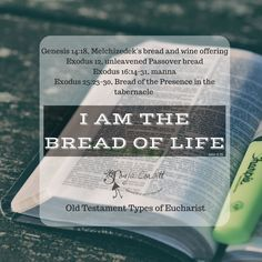 "Presence Bread, the Pre-Eucharist: The ""How"" of the OT — Bible Study Evangelista"