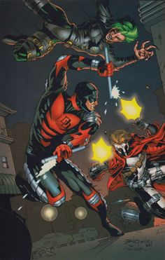 Ultraverse/Marvel Crossover: Tooth, Nail & Daredevil - Dean Zachary