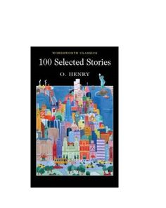 Reading list O Henry Selected Stories (Wordsworth Classics) [Paperback] Wordsworth Classics, Reading Lists, The Selection, Books To Read, The 100, Author, Collection, Writers