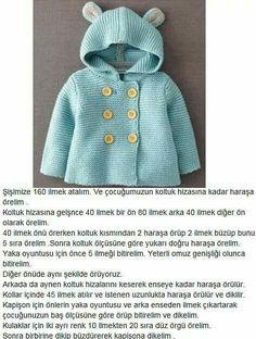 Hirka Baby Knitting Patterns, Baby Cardigan Knitting Pattern, Knitted Baby Cardigan, Knit Baby Sweaters, Knitting Designs, Crochet For Boys, Knitting For Kids, Crochet Baby, Christmas Look