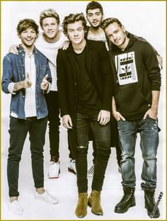 These are my loves 5 boys who changed my life :)