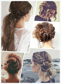Messy Braid Hairstyles - Nicole Creative