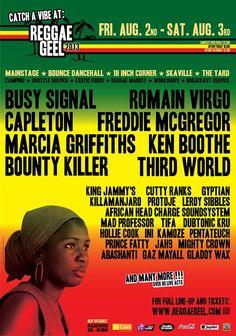 REGGAE GEEL  Third World in Belgium at Reggae Geel on August 3, 2013