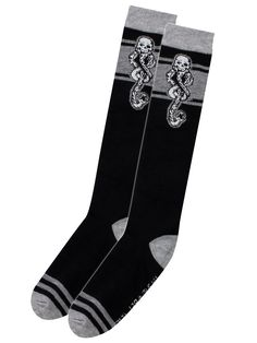"HARRY POTTER ""Dark Mark"" knee socks"