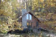 HOCKING HILLS - Harvest Moon Cottages W/ VERY CUTE CREEK FOR KIDS TO PLAY! 4-5 people - $785.00 Sun-Thurs + $235 p/nt Friday & Saturday