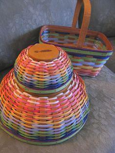 My Favorite Longaberger baskets