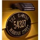 Personalized Oval House Sign | Address Signs & Plaques