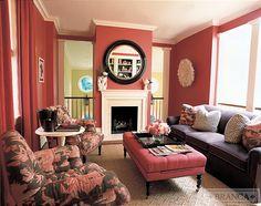 Alessandra Branca, Georgetown Townhouse, Sitting Room/Office