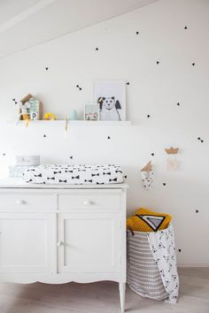 Home Tour: Whimsical Pastels + Family — Nursery Room, Kids Bedroom, Nursery Decor, Room Decor, Deer Nursery, Nursery Ideas, Monochrome Nursery, Nursery Neutral, 233