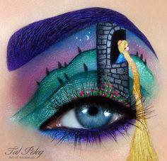 Galeri Foto Seni Gambar Eyes Shadow Menakjubkan | Download Foto Fb HD