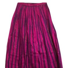 Ellen Tracy Wrap Skirt Elegant multi-colored wrap skirt by Linda Allard for Ellen Tracy. Ellen Tracy Skirts Maxi