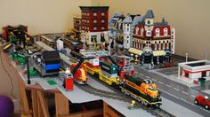 The Midwest Hollands' Lego Town