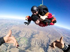 #SKYDIVE in #NewZealand is a must-do during your trip!