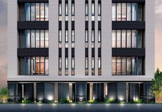 Unusual Architecture Ideas for Hotel Apartment & Commercial Building - Page 25 of 34 Office Building Architecture, Building Exterior, Building Facade, Facade Architecture, Building Design, Architecture Program, Facade Design, Exterior Design, Apartment Entrance