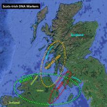 How Scots-Irish (or Irish-Scot) are YOU? | Scottish Origenes: scottish ancestry, scottish genealogy, scottish clan map