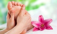 Groupon - 60-min Reflexology Foot Massage Including Head, Shoulder, and Back with Parafin Wax at VIP Foot Spa (42% Off)   in Mokena. Groupon deal price: $35