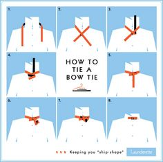 """bow tie tutorial - in case you want to learn. I've been wearing them more lately."" <- I blame Doctor Who! :D"