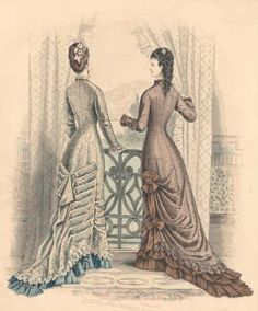 18770 the brown dress has the gathering at the side- interesting