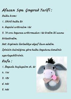 @hobikitty Crochet Bunny Pattern, Crochet Animal Patterns, Crochet Animals, Baby Patterns, Doll Patterns, Crochet Toys, Crochet Baby, Baby Rattle, Free Baby Stuff