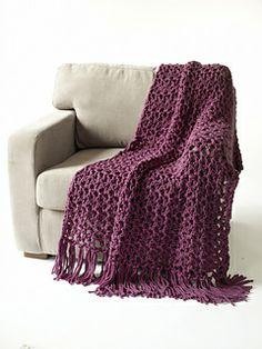 5 1/2 Hour Throw (Super Bulky) | Crochet | Easy