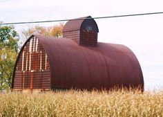 Old Rusty Barn, Franklin, IL